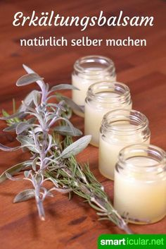 Erkältungssalben riechen gut und lindern Beschwerden. Die meisten basieren jedoch auf Mineralölen. Dabei ist eine natürliche Alternative schnell hergestellt!