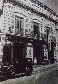 Cine Rialto 1940 en la Candelaria