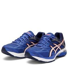 61d08e56b6610e Asics GEL-Flux 4 - Dame(Blue Purple White In)Løbesko til kvinder