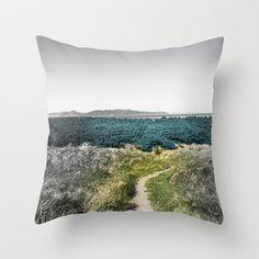 Nestled Field Throw Pillow by Kim Rose Adams - $20.00 #pillow