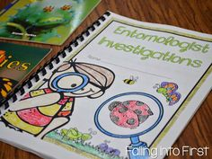 Insect unit. Lessons and ideas! Entomologist journals to record research.