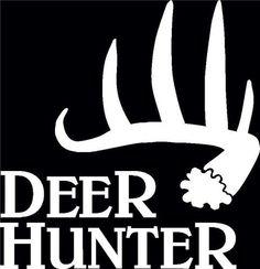 Deer Hunter Antler Shed Hunting Decals  http://customstickershop.com/Deer-Hunter-Antler-Shed-Hunting-Decals-P4945935.aspx