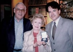 The Austrian Film Archive Lifetime Achievement Award for Reel Pioneer, Elfi von Dassanowsky, with author and cineaste Rudolf Ulrich (l) and son Robert Dassanowsky (r), producer of Reel Herstory