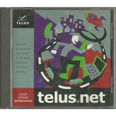 Telus.Net High Speed Quick Connect PC Software 2000 5.0.1 with Norton, Net Nanny Listing in the Communications,Software,Computing Category on eBid Canada | 153958188 CAN$10.00 + shipping