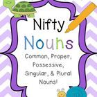 Printables/activities for nouns and their many types! (common, proper, singular, plural, possessive)