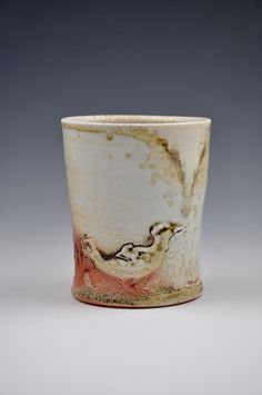 Debbie Williamson  |  'The Sky is Falling' cup (3.5x3x3).