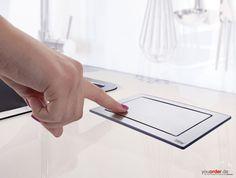 EVOline Backflip drehbare Steckdose Steckdosenelement Edelstahl mit USB Charger | eBay