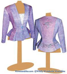 Celtic Dreams Jacket Pattern   Wildly Wonderful Wearables ...