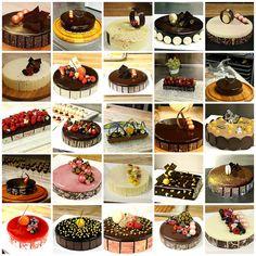 Entremets by Pastry Chef Antonio Bachour Fancy Desserts, Fancy Cakes, Mini Cakes, Delicious Desserts, Cupcake Cakes, Baking And Pastry, Pastry Chef, Cake Recipes, Dessert Recipes