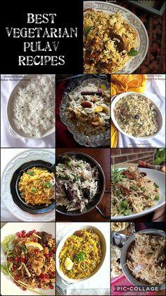 Best Vegetable Pulav Recipes