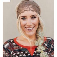 Three bird nest lace head wrap*MAKE AN OFFER! ☺️ Brown three bird nest lace headwear. Brand new! Three Bird Nest Accessories Hair Accessories