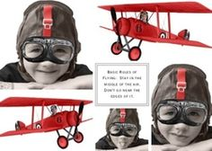 Vintage airplane party  Birthday - all things flying