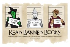 Read Banned Books - Yes indeed!<< wait what? how could they ban the wizard of Oz? I Love Books, Books To Read, My Books, Amazing Books, It's Amazing, Teen Library, Elementary Library, Library Humor, Famous Books