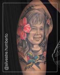 #tattoos #tattoo #instatattoo #BlackAndGreyTattoos #ColorTattoos #TattooArt #TattooMag #Child #kid #Portrait #PortraitTattoo #degradevector #Flower #Geometric #facetattoo #ink #inked #tattooart #tattoomag #tattoowork #swallow #swaĺlowtattoo