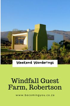 A delightful weekend stay at Windfall Guest Farm, Robertson The 'burbs, Family Fun Day, Family Units, Farm Cottage, Family Getaways, Weekends Away, Freaking Awesome, Cape Town, Family Travel