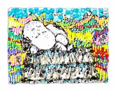 Milky Way | Tom Everhart #tomeverhart #snoopy #charliebrown #peanuts