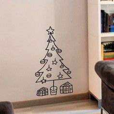 Christmas Tree Decal, $45, now featured on Fab.