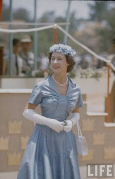 Princess Margaret in East Africa, 1956.