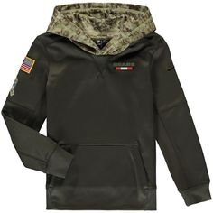 07f845272 Youth Chicago Bears Nike Olive Salute to Service Performance Pullover  Hoodie, Sale: $48.99 -