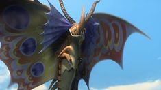 Death Song the Siren Dragon from Dreamworks Dragons Race to the Edge