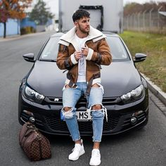 26 Best Ideas For Sneakers Fashion Outfits Tomboys Dope Fashion, Mens Fashion Suits, Men Looks, Sneakers Fashion Outfits, Mens Style Guide, Stylish Men, Winter Fashion, Menswear, Street Style