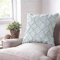 Birch Lane Alda Pintucked Pillow Cover | Birch Lane