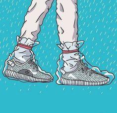 ⭕️ Would you wear your yeezys in the rain? ———————————————— #Hypebeast #supreme #montreal #Hype #yeezy #yeezyboost #sneakersaddict #trasher