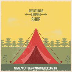 Pensando em acampar? Visite www.aventurarcampingshop.com.br para encontrar os melhores acessórios para camping! ;)