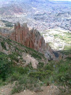 Canyon - La Paz, Bolivie.