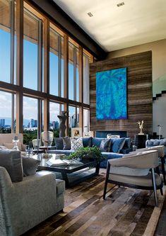 Un penthouse en la Ciudad de México muestra la constancia y la evolución del diseño mexicano contemporáneo.