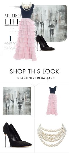 """Untitled #995"" by kohlanndesigns ❤ liked on Polyvore featuring Leftbank Art, Casadei and Christian Dior"