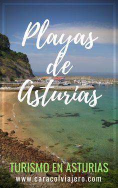 Playas cerca de Gijón #Asturias #playas Places In Spain, Beautiful Places, Neon Signs, Reiki, Travel, Fishing Villages, Seaside, Viajes, Trips