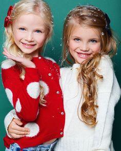 New- Ariana &amp Beautiful Little Girls, Beautiful Children, Beautiful Babies, Holiday Photography, Photography Poses, Twin Babies, Cute Babies, Divas, Mother Daughter Photos
