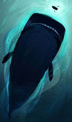 Creative Illustration, Painting, and Whale image ideas & inspiration on Designspiration Drawn Art, Art Plastique, Cool Art, Concept Art, Art Projects, Art Photography, Illustration Art, Creative Illustration, Sketches