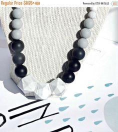 Spring Sale Teething Necklace/ Teething Beads/ Nursing Necklace/ silicone Beads/ DIY Kit/ Bulk Beads