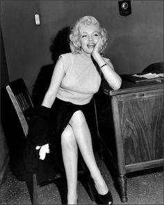 Candid Marilyn