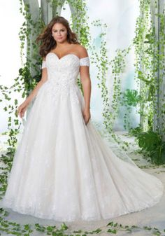 42c482980 24824 Petunia Plus Size Wedding Dress by Mori Lee. Try this beauty on at  Aurora
