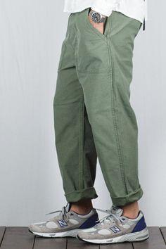 Military Fashion, Mens Fashion, Fashion Outfits, 50s Style Men, Nouveau Look, Denim Pants Mens, Men Street, Well Dressed Men, Japan Fashion