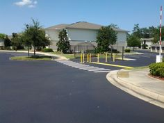 Recent Sealcoating & Line Striping job by our ABC Paving & Sealcoating Team! #Maintenance #Sealcoating #LineStriping