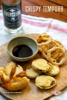 Seafood Recipes, Appetizer Recipes, Appetizers, Tempura Recipe, Great Recipes, Favorite Recipes, Tempura Batter, Batter Recipe, Copykat Recipes