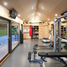 Best dream home gym spa images in gym exercise