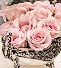 pretty pink flowers for the home