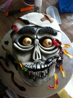 Achmed the dead terrorist birthday cake olli for Achmed the dead terrorist halloween decoration