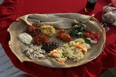 "Part of what makes Ethiopian food perfect for so many diets is that there's always a ""fasting"" (or animal-free) option: Many Ethiopians are Orthodox Christians and traditionally eat vegan on Wednesdays and Fridays, as well as other special days. 