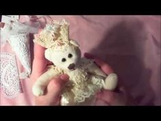 Christmas Tussie Mussie & Bear Princess   Shabbylishious DT Project Nov ...