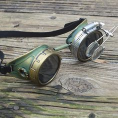 Steampunk Goggles Mad Scientist Time Traveler Optic Conductors Victorian Welding Motorcycle Biker LIMITED https://www.etsy.com/listing/509770157/steampunk-goggles-mad-scientist-time?utm_source=OpenGraph&utm_medium=PageTools&utm_campaign=Share