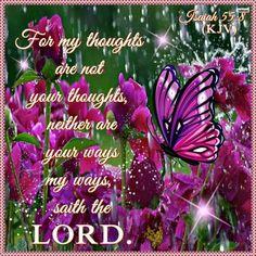 Isaiah 55:8 KJV