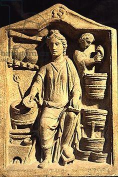 A Pharmacy (stone) by Roman, (2nd century AD) - Bridgeman - Art, Culture, History