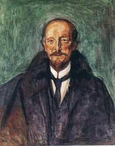 Edvard Munch (Norwegian, 1863-1944), Portrait of Albert Kollmann, 1902