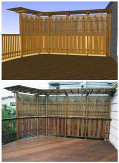 1000 Images About Deck And Fencing Ideas On Pinterest